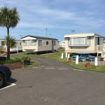 Caravans at Eastern Beach Caravan Park, Caister-on-Sea, Norfolk.