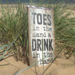 Sign at Eastern Beach Caravan Park, Caister-on-Sea, Norfolk.