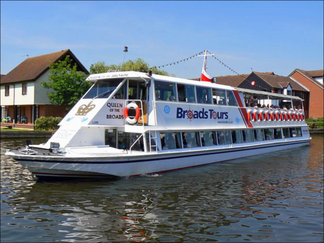Broads Tours, Wroxham, Norfolk.