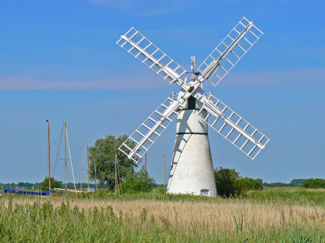 Thurne Windpump, Norfolk.
