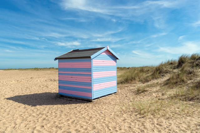 Beach Hut at Great Yarmouth