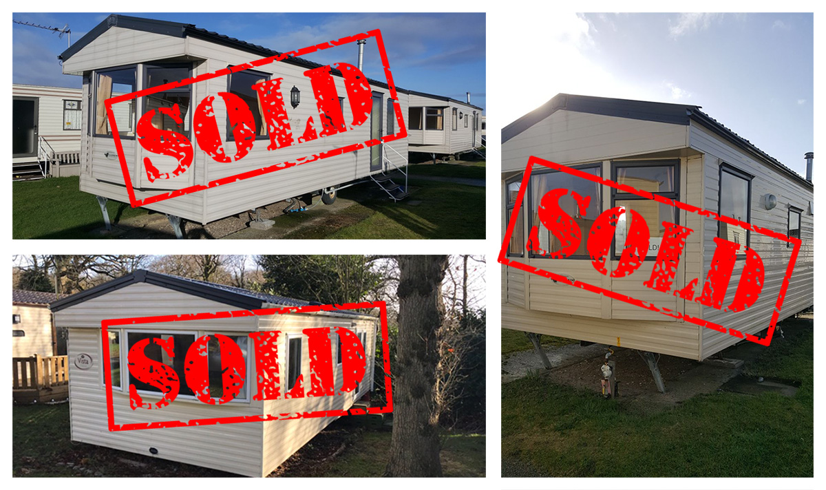 Sold Caravans at Eastern Beach in Caister