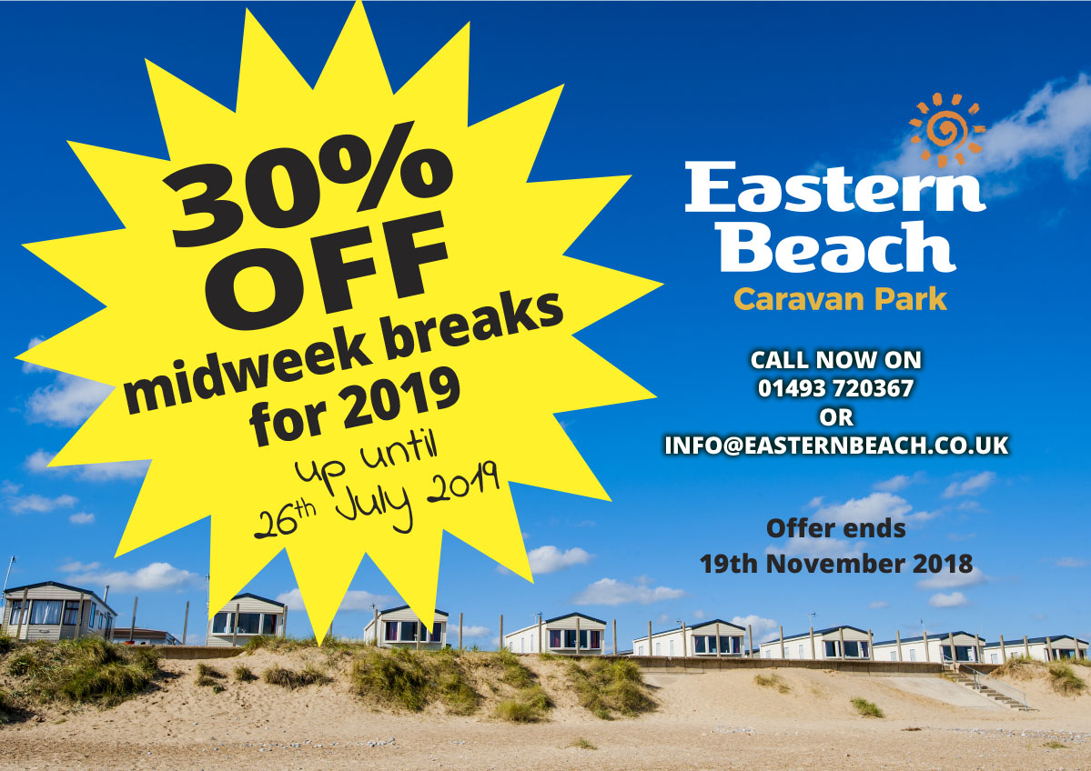 30% Off Weekend Breaks Poster